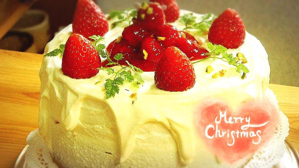 *終了*【よろづや教室】ままおーぶんシフォンでクリスマスケーキを作ろう☆